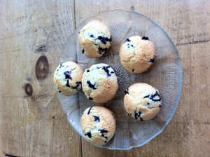 Delicious Blueberry Muffins